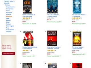 'Janus' #3 on Amazon's Hot New Releases