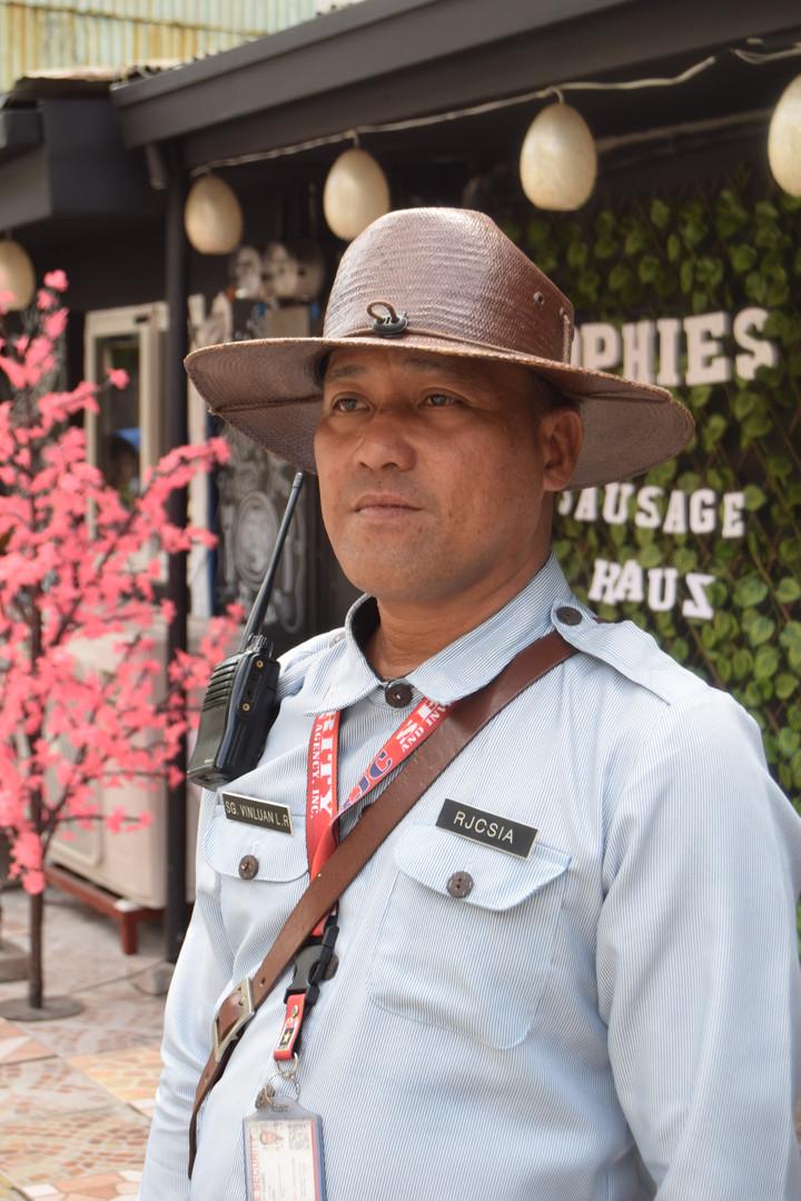 Police officer in Manila