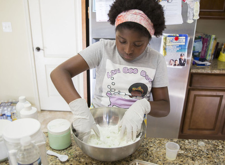 #MiniMogul 9-Year-Old Jelani Jones Owns a Line of Bath Products