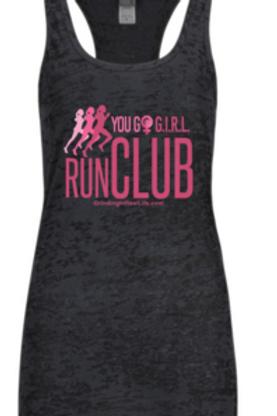 You Go G.I.R.L. Run Club Tank Top