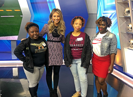 12 Days of Christmas: Kalisha Becomes a Sports Reporter!
