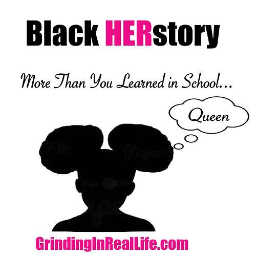 Black HERstory Tee