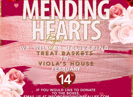 2nd Annual Mending Hearts Project