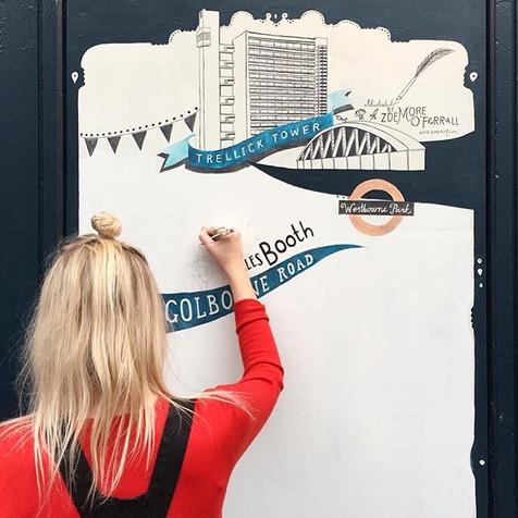 Notting Hill Mural