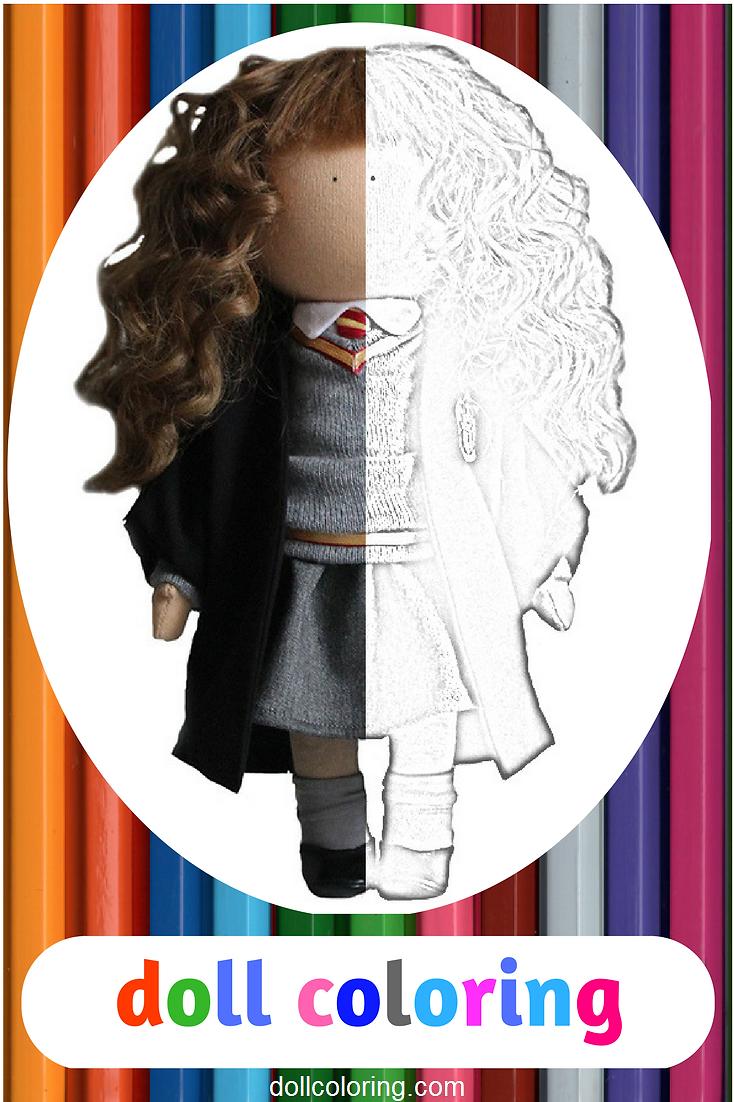 Childrens coloring sheet of a rag doll - Tilda Doll Adult Coloring Handmade Doll Art Coloring Rag Doll Kids Coloring Fabric Doll Child Coloring Coloring Page Art Doll Coloring Book