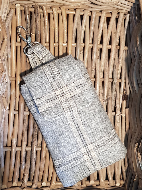 Clip On Pouch Large - Grey