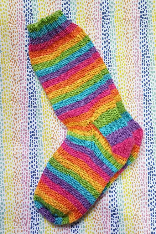 Socks Adult 1-3 - Rainbow