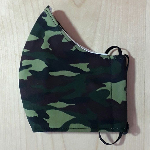 Camo Shaped Mask