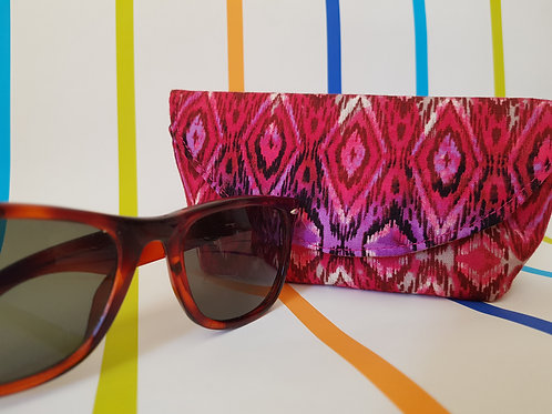 Pink Diamonds Glasses Case