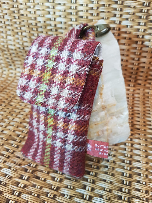Clip On Pouch Small - Chestnut Brown