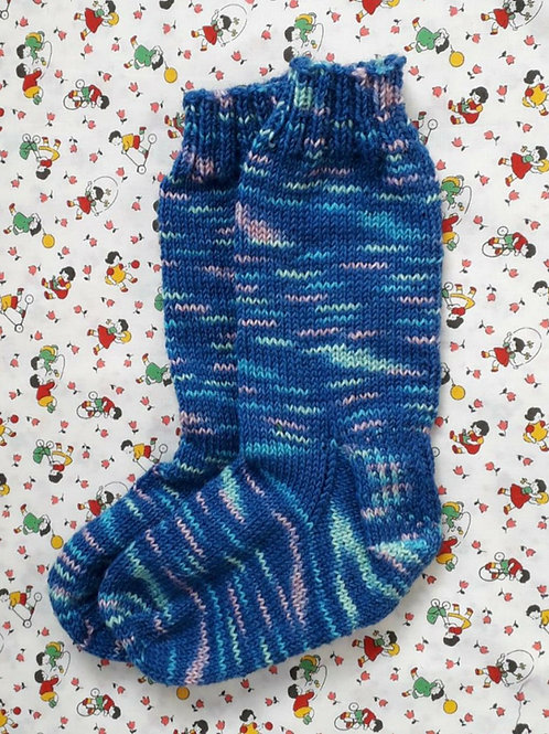 Socks Child 7-9 - Blue Speckles
