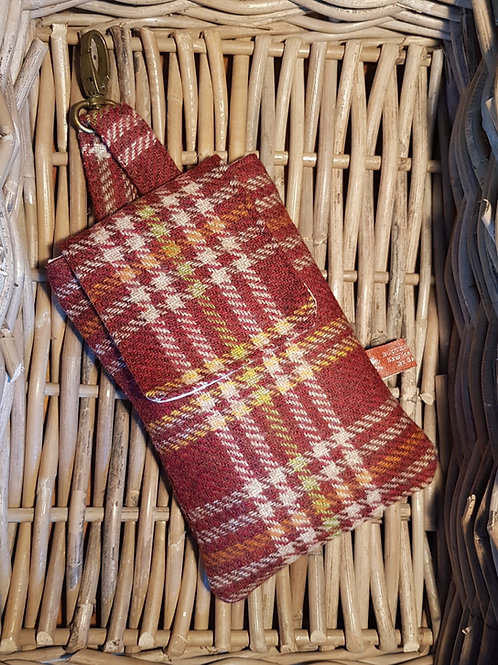 Clip On Pouch Large - Chestnut Brown
