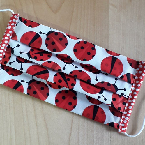 Ladybugs Child Mask