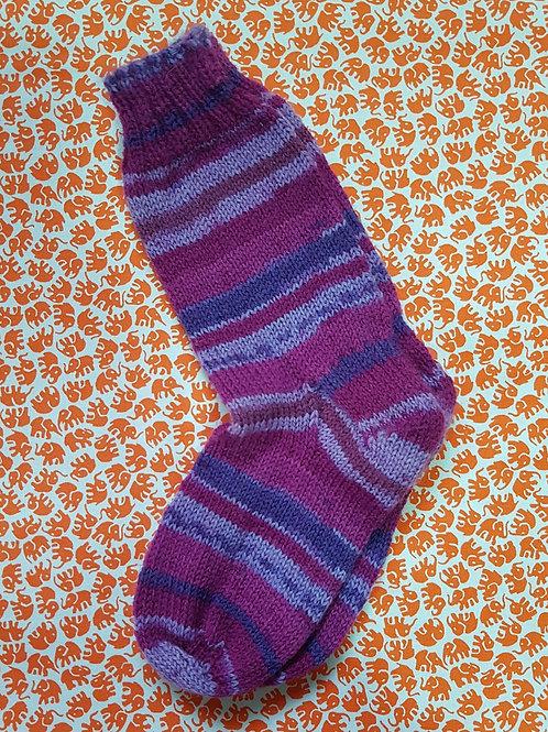 Socks Child 10-13 - Purple