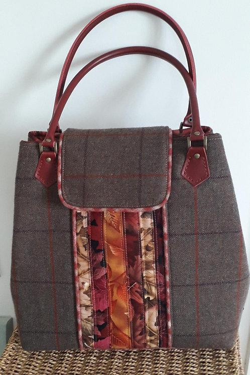 Autumn Tweed Tote Bag