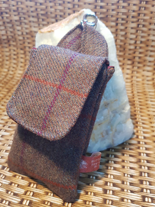 Clip On Pouch - Brown