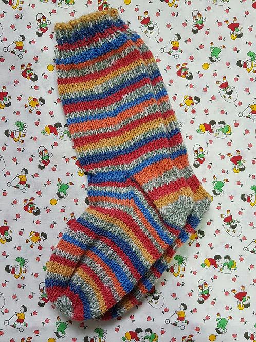 Socks Child 7-9 - Primary Stripes