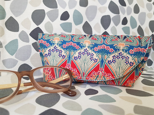 Art Nouveau Liberty Fabric Glasses Case