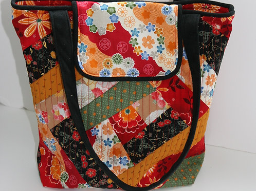 Chinese Style Fabric Tote Bag