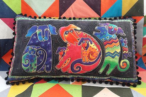 Laurel Birch Dog Design Panel Cushion Cover