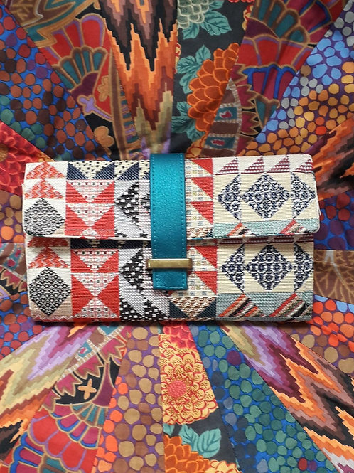 """""""Worsley Wallet"""" - Triangles"""