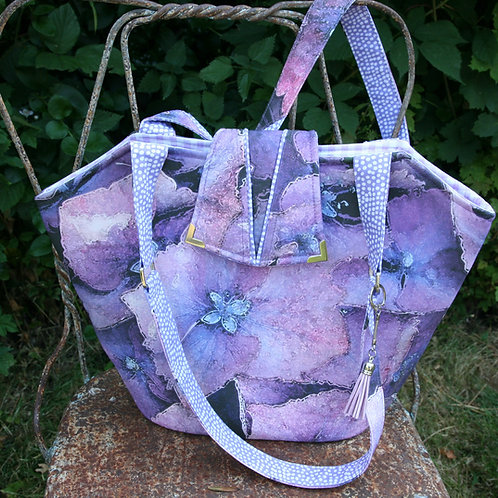 Hydrangea Digital Printed Bag