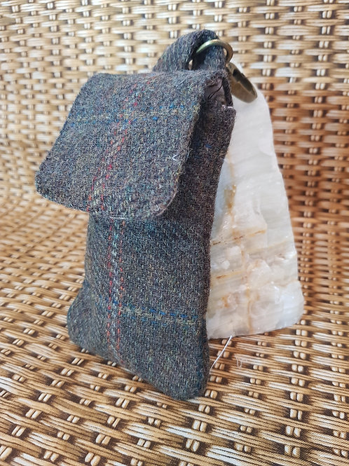 Clip On Pouch Small - Grey Brown