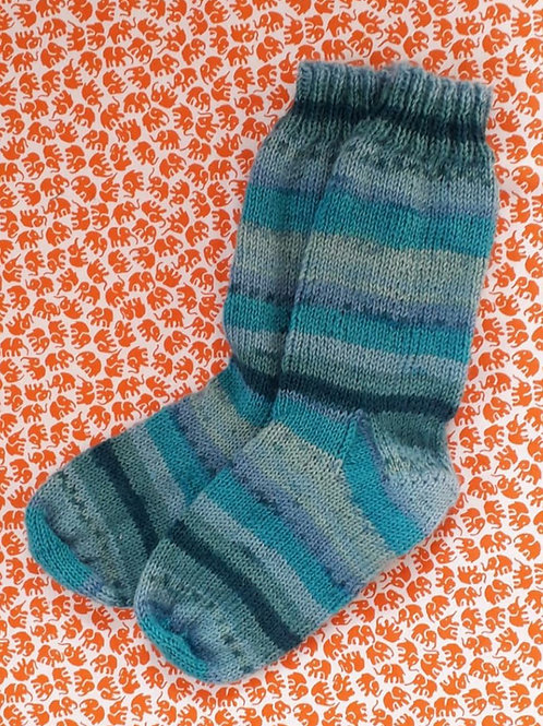 Socks Child 10-13 - Turquoise