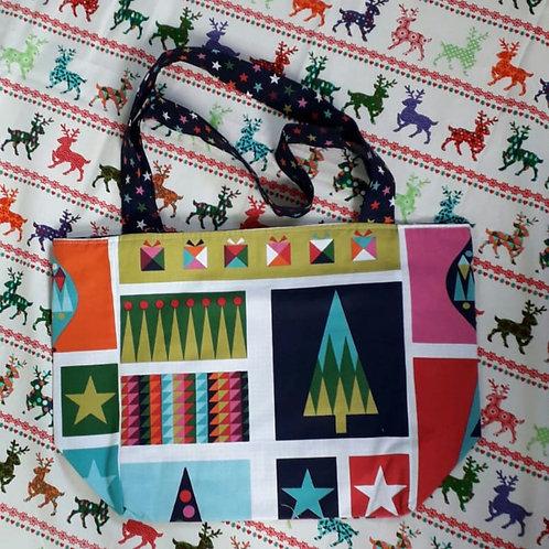 Geometric Christmas Shopper