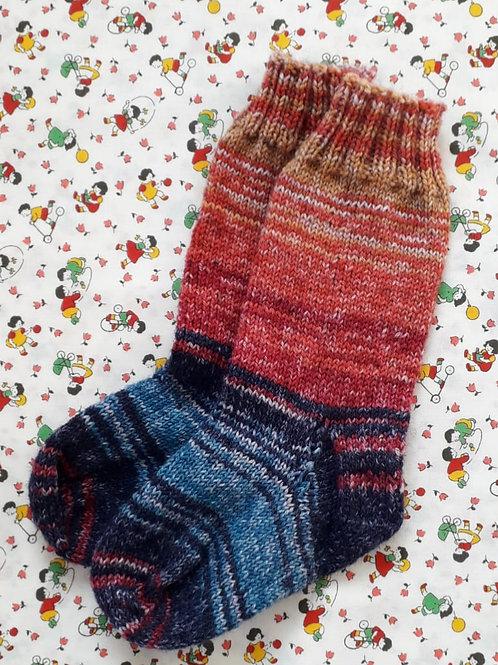 Sock Child 7-9 - Bonfire