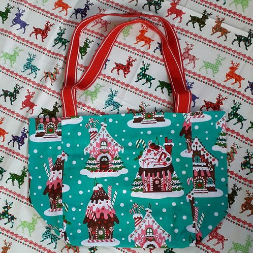 Gingerbread Christmas Shopper