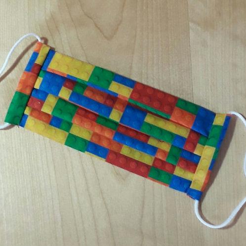 Building Bricks Child Mask