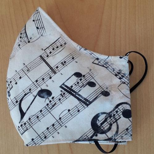 Music Shaped Mask