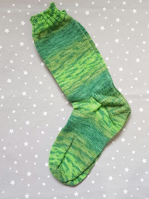 Socks Adult 7-9 - Greens