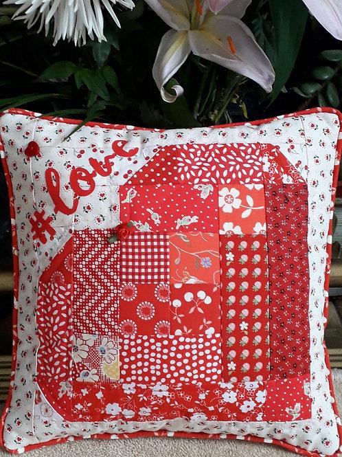 Small Love Padded Cushion