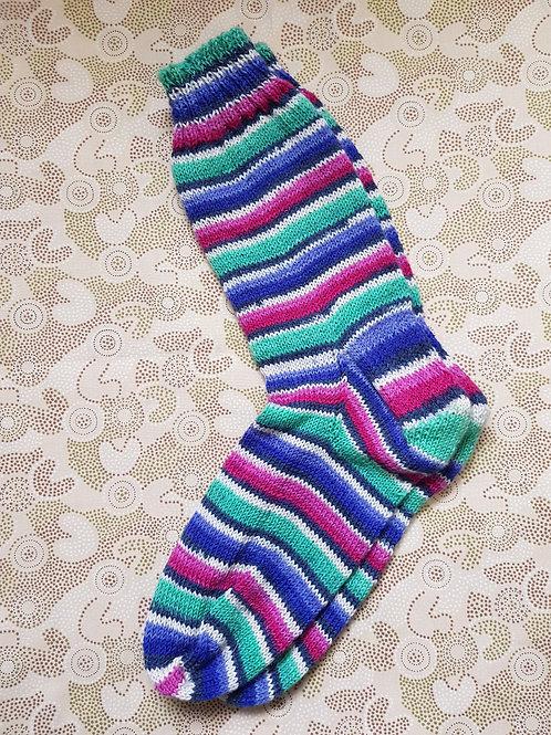 Socks Adult 9-11 - Tri Stripes