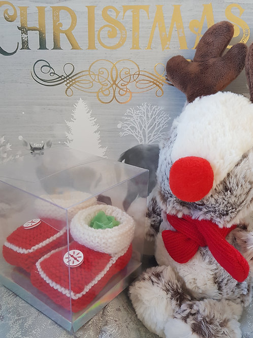 Small Red Christmas Cosy Toes