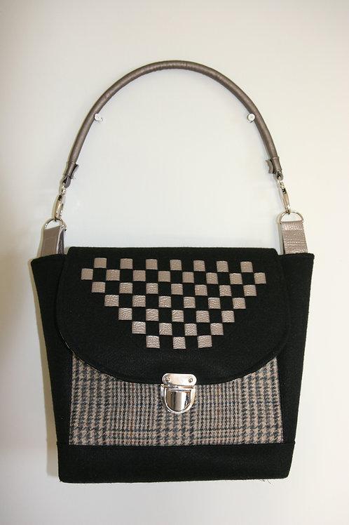 Black Weave Bag