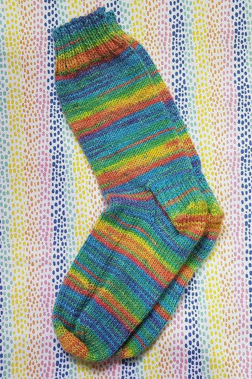 Socks Adult 1-3 - Blended Rainbow
