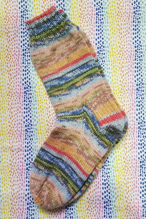 Socks Adult 1-3 - Seaside