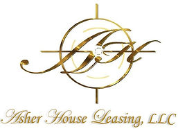 Asher House Leasing logo with name (bigg