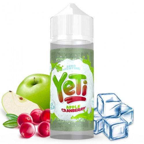 Yeti Apple Cranberry 100ml ShortFill