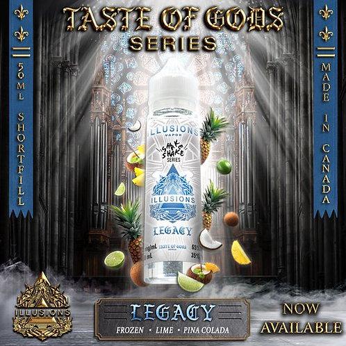 Illusions Vapor  Taste of Gods Legacy 50ml  ShortFill