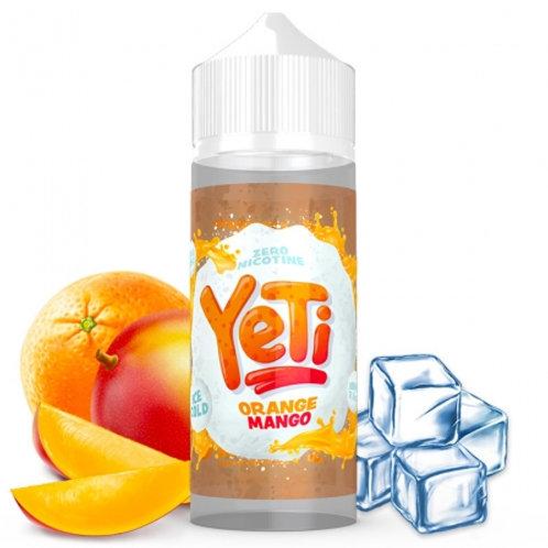Yeti Orange Mango 100ml ShortFill
