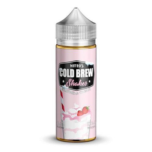 NITROS Cold Brew, Strawberry & Cream, 100ML ShortFill