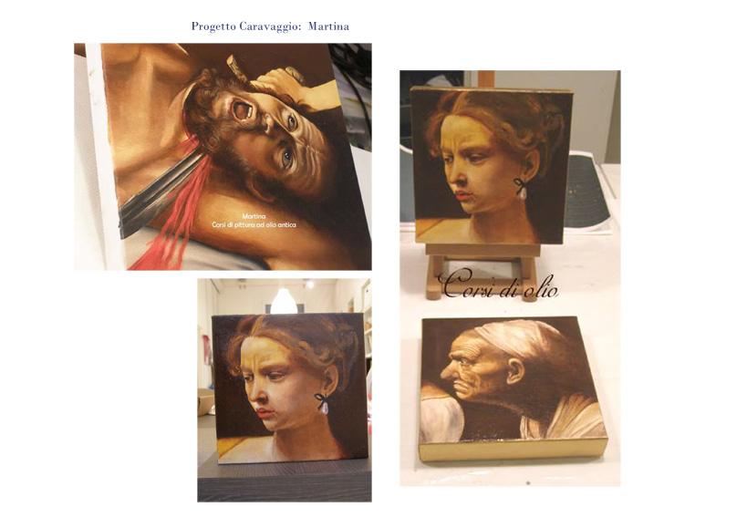 progetto Caravaggio Martina