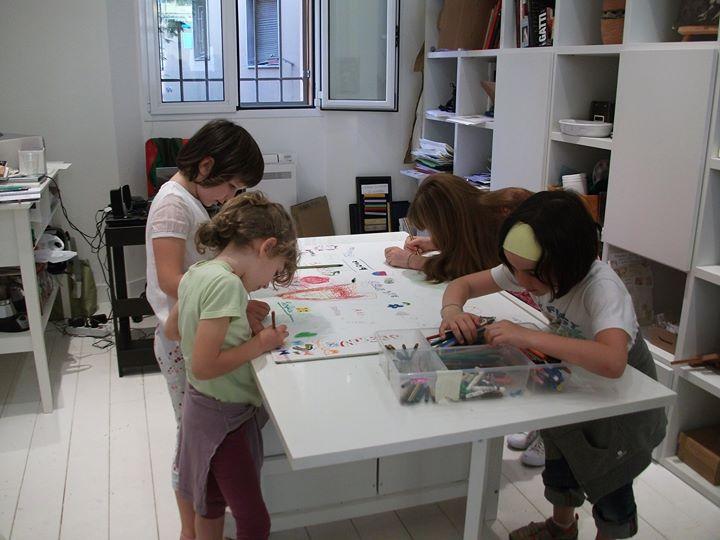 2011: Prima esposizione Lavori e opere allievi