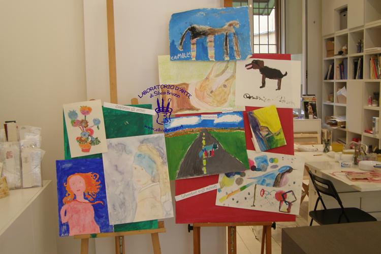 lab sui pittori e sugli animali