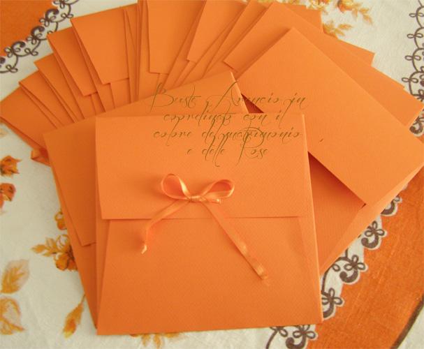 Buste personalizzate con carte fabriano