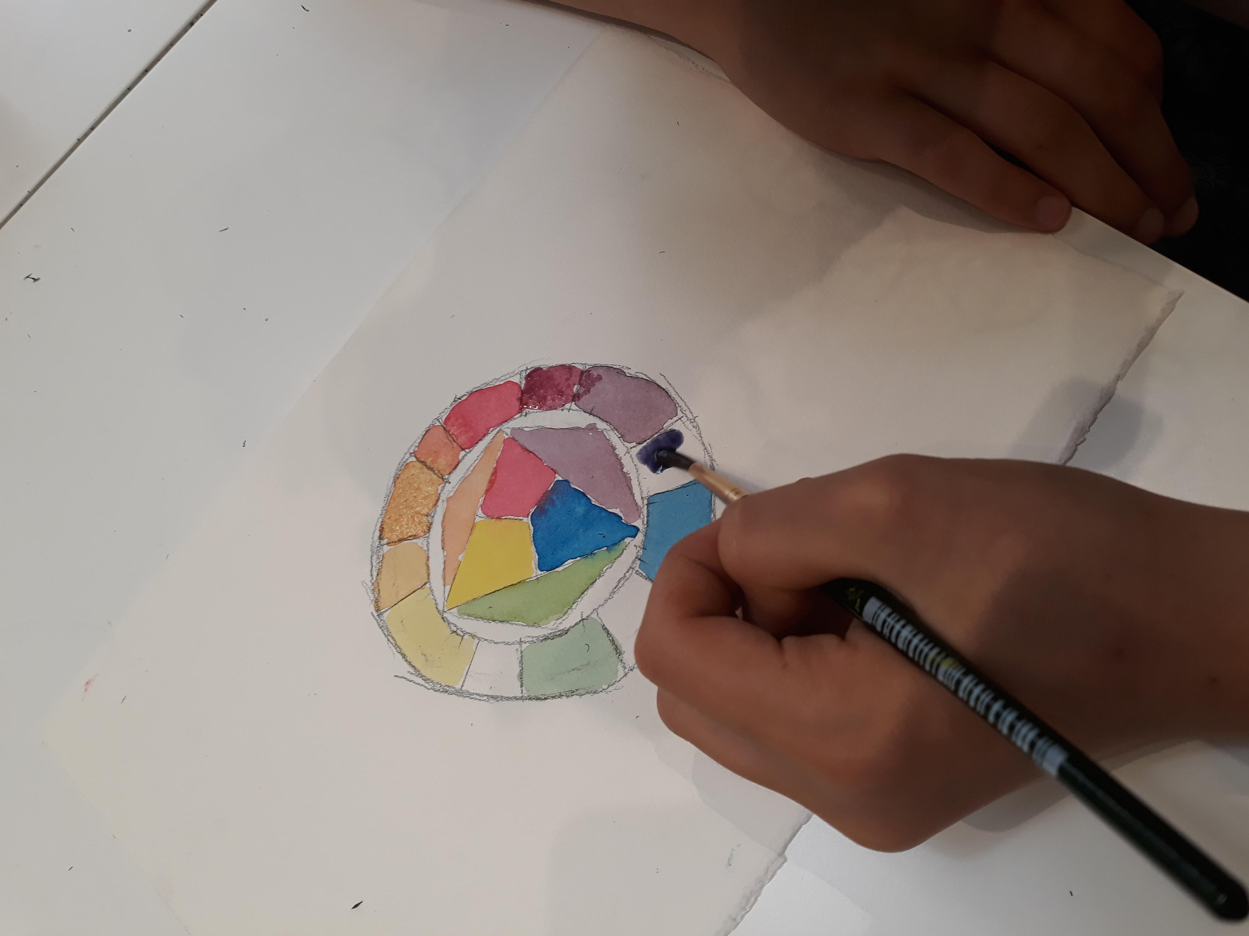 Le tecniche pittoriche